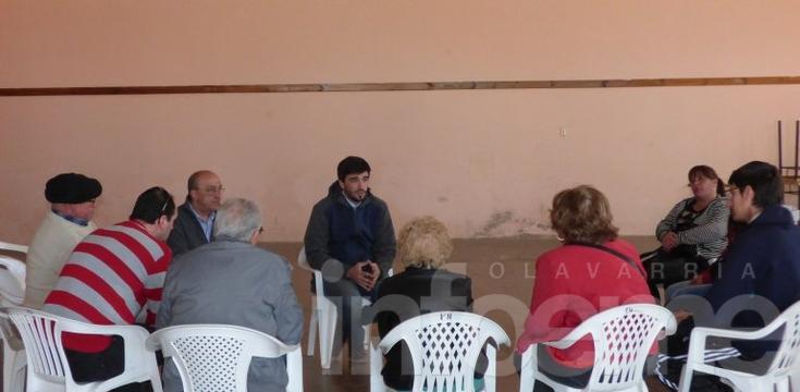 El candidato del PRO visitó Sierras Bayas