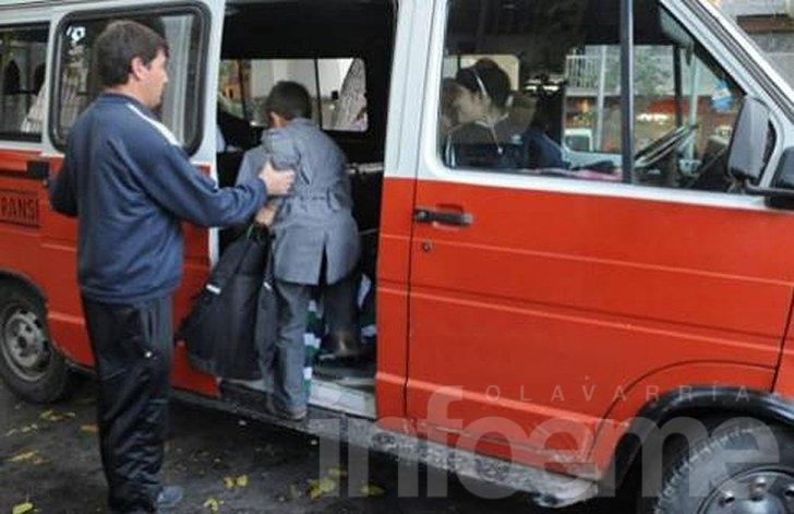 El paro del transporte escolar repercute en Olavarría