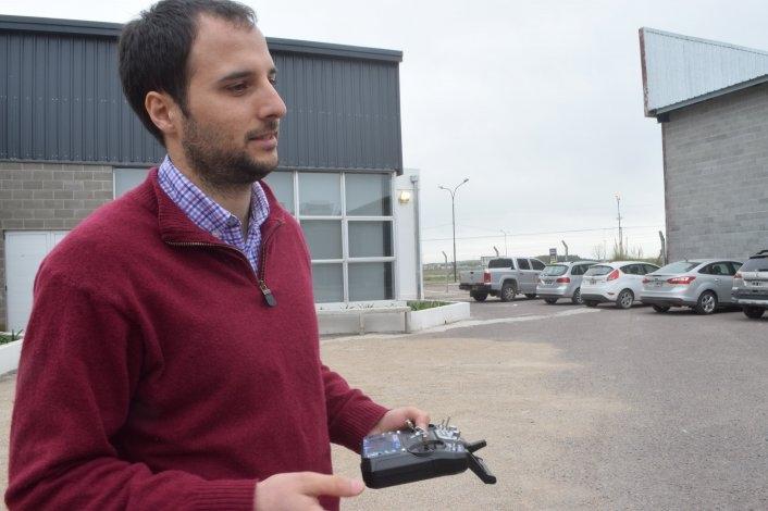 """""""Los drones nos brindan información para tomar decisiones rápidas"""""""