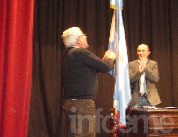 Omar Chamorro fue reconocido en su última cobertura en el HCD
