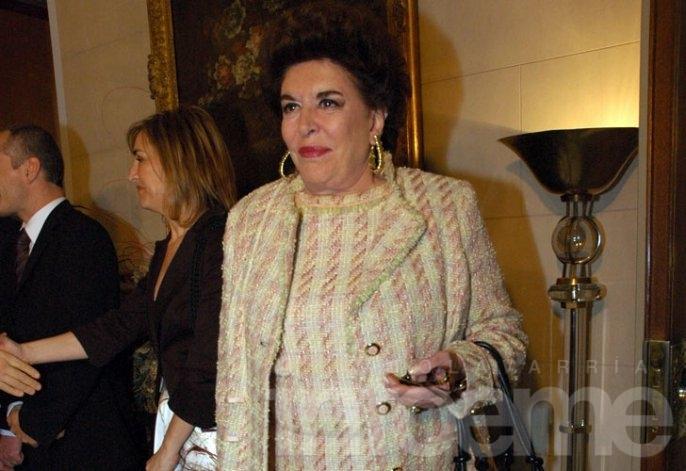 Murió Inés Lafuente, única hija de Amalita Fortabat