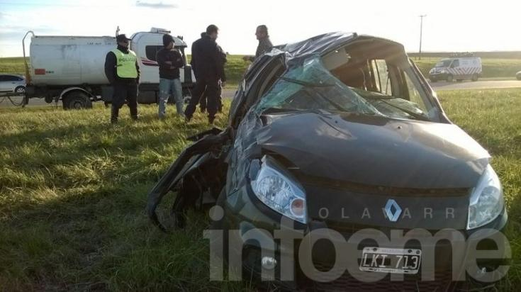 Otro accidente fatal en Ruta 226