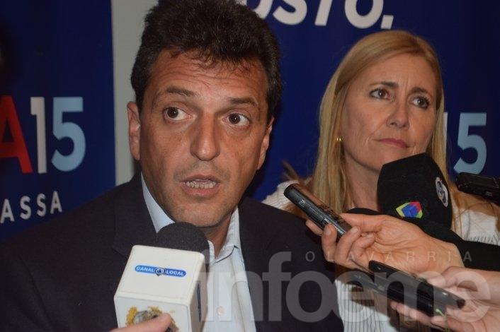 Sergio Massa visitará nuevamente la Ciudad