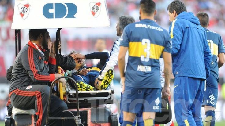 Confirmado: Fernando Gago se rompió el tendón de Aquiles y se perderá el resto del torneo