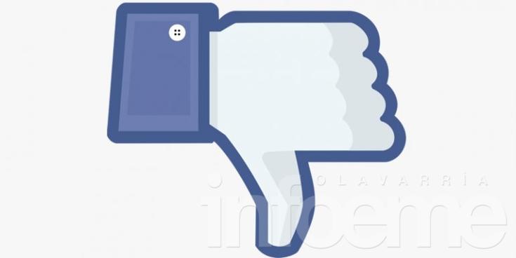 """Facebook analiza crear un botón """"No me gusta"""""""