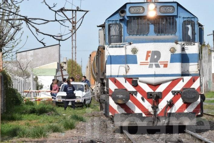 Fatal accidente, una mujer falleció arrollada por un tren