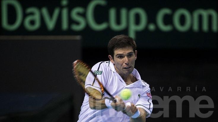 Copa Davis: Perdió el azuleño Delbonis