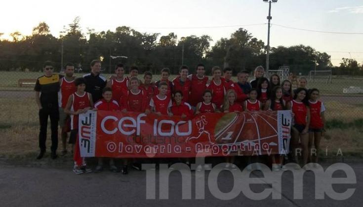 Buena actuación del CEF 100 en Mar del Plata