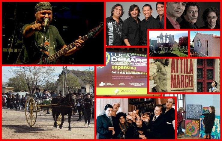 Cine, rock and roll y folclore para el último finde de invierno