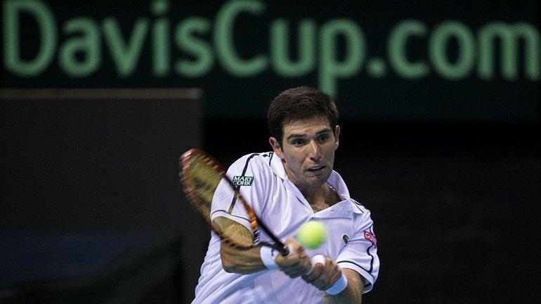 Federico Delbonis perdió el quinto punto de las semis y Argentina fue eliminada en la Copa Davis