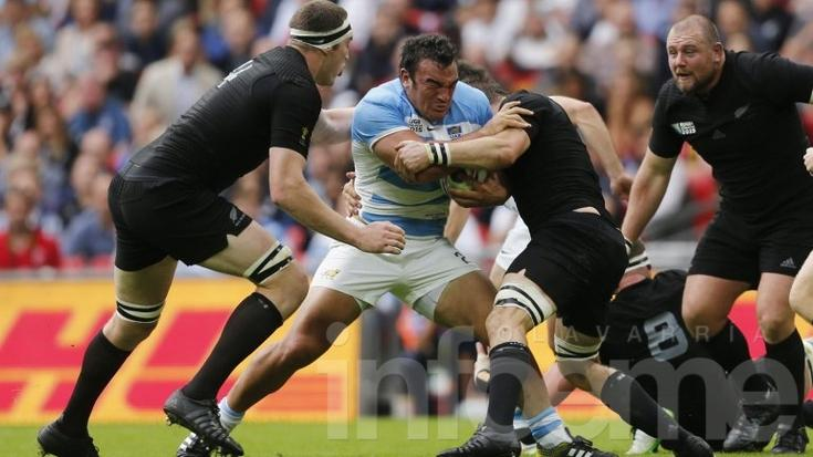 Los Pumas cayeron con los All Blacks