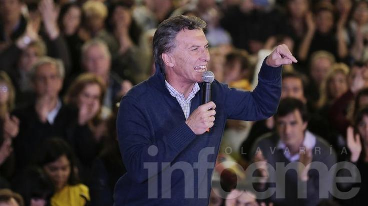 """Mauricio Macri: """"Voy a ir al debate"""""""