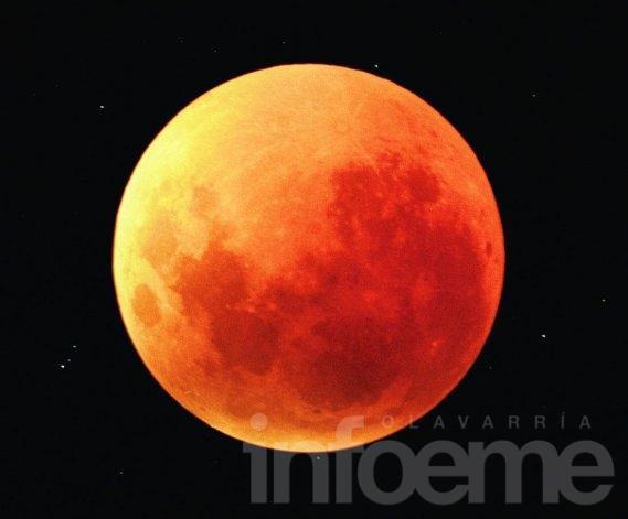Eclipse total de luna para disfrutar
