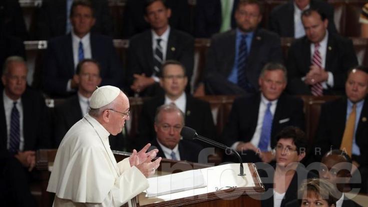 En el Capitolio de Estados Unidos, el papa pidió abolir la pena de muerte