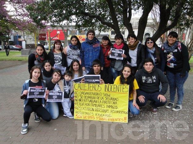 Callejeros: fanáticos se convocaron para repudiar la condena