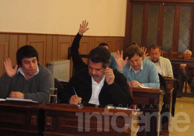 El Concejo autorizó cesión de lotes para autoconstrucción