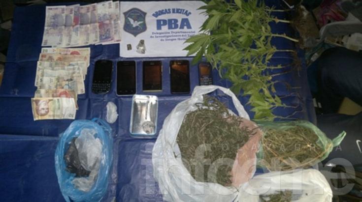 A través del 0800 DROGAS NO, se secuestró marihuana