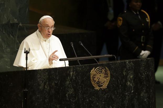 Francisco citó al Martín Fierro ante la Asamblea General de la ONU