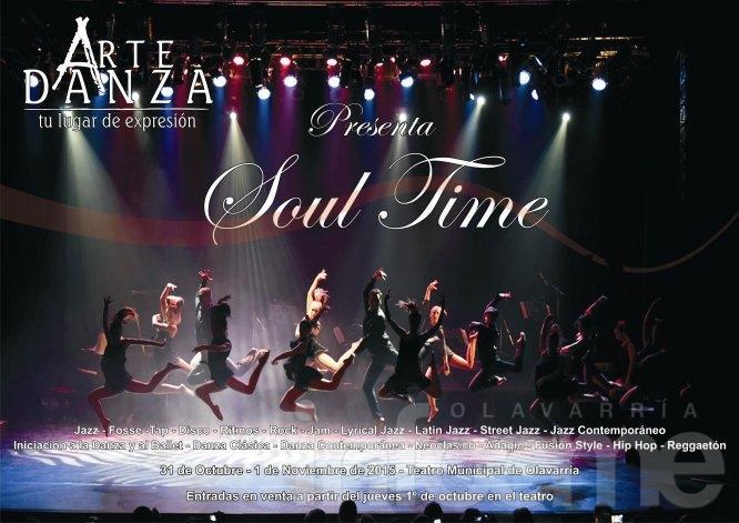 Cursos, Workshops y shows en Artedanza