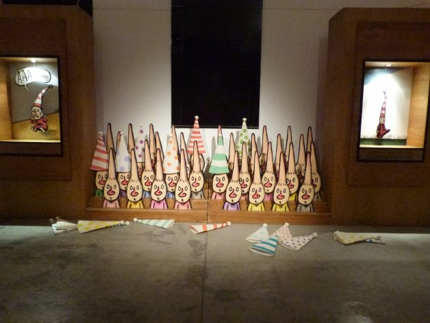 "Con Liniers se inauguró ""Una muestra macanuda"""
