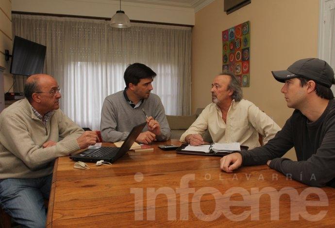 """Ezequiel Galli presenta """"Olavarría como Centro de Deportes de la provincia"""""""