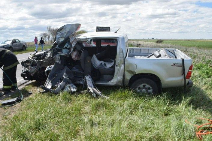 Violento accidente en la Ruta 51: un muerto y un herido