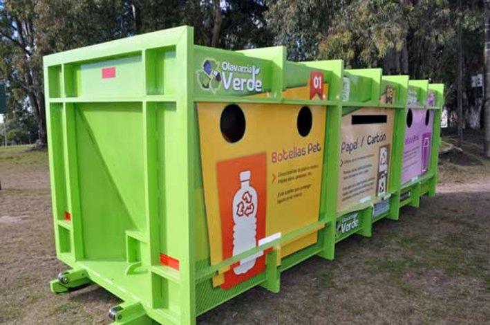 En octubre el Ecopunto permanecerá en el Parque Eseverri