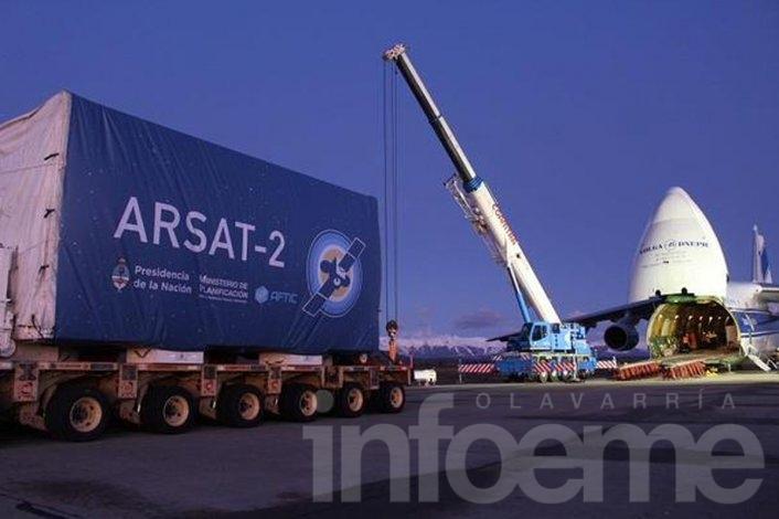Este miércoles despegará el Arsat-2