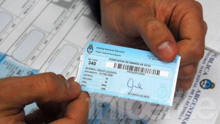 Quedan 8 días para justificar la no emisión de voto en las PASO sino deberán pagar una multa