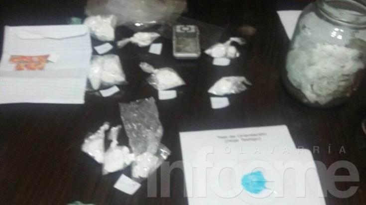 Llamó por violencia de género y encontraron cocaína enterrada en el patio