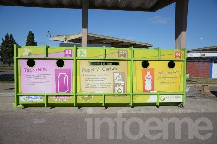 El Ecopunto estará en el Parque Eseverri
