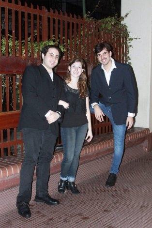 """Gala Lírica: """"Das Triplett Trio"""" en el Teatro Municipal"""
