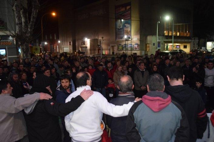 Crimen de Fernando: la comunidad acompañó el reclamo de la familia Palahy