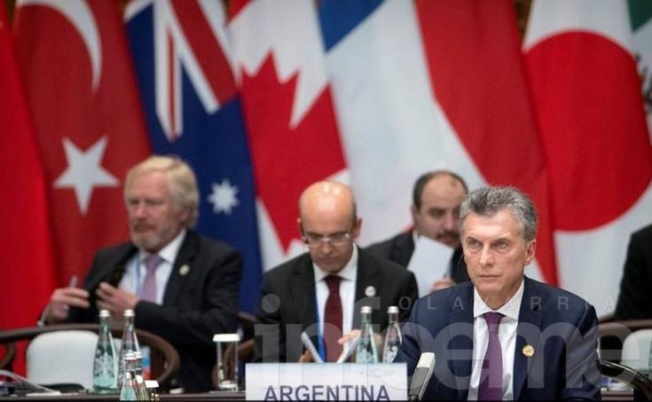 """Macri en el G20: """"Dejamos atrás el aislacionismo"""""""