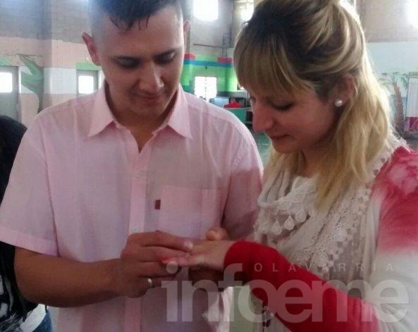 Casamiento en la Unidad Nº 38 de Sierra Chica