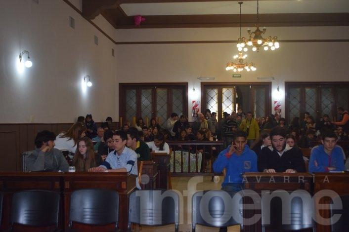 Asumieron los nuevos concejales estudiantiles