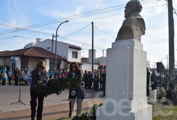 Acto por aniversario del fallecimiento de Sarmiento