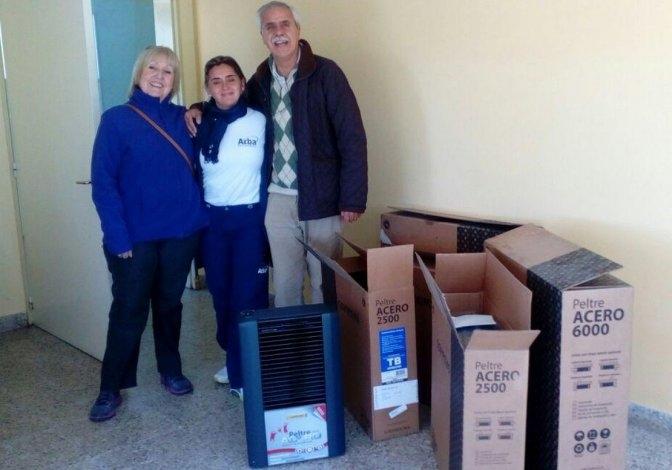 CORPI recibió donaciones de ARBA