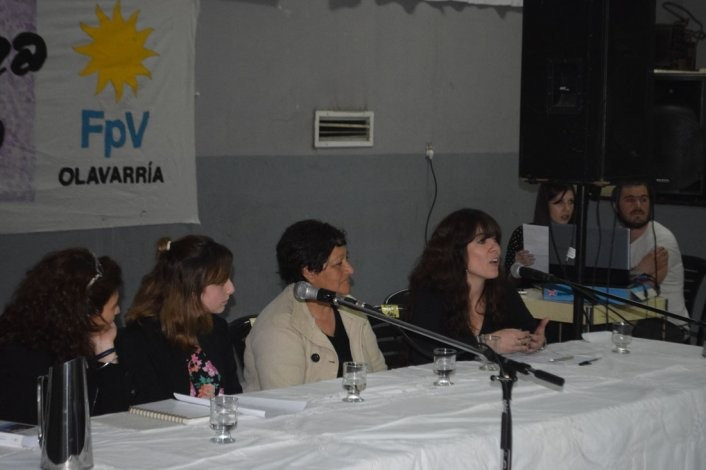 Encuentro de Mujeres para la Victoria en Olavarría