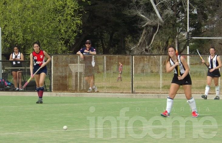 Hockey: saldo positivo para las chicas albinegras