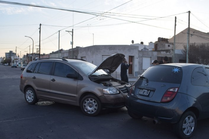 Dos accidentes de tránsito en la tarde de domingo