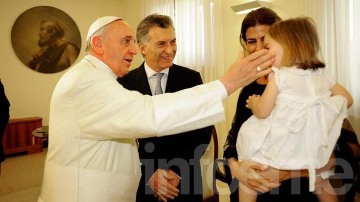 El papa Francisco recibirá a Mauricio Macri