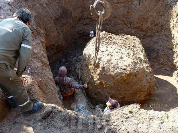 Apareció en Chaco el segundo meteorito más grande del mundo