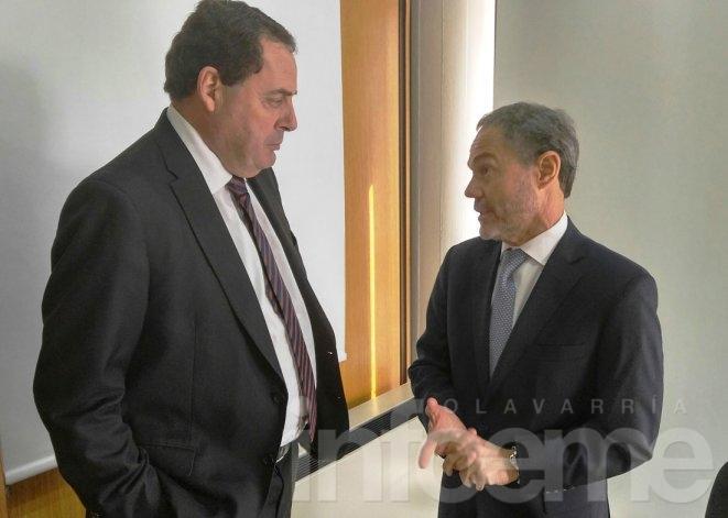 Héctor Vitale se reunió con el Ministro de Justicia Provincial