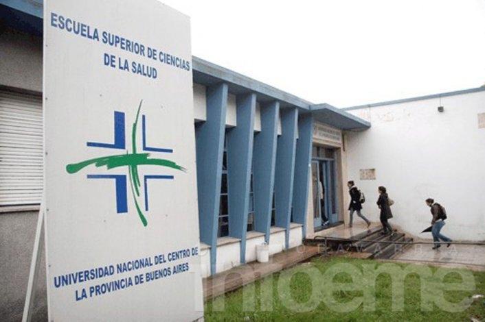 UNICEN y Salud suspende actividades del turno mañana