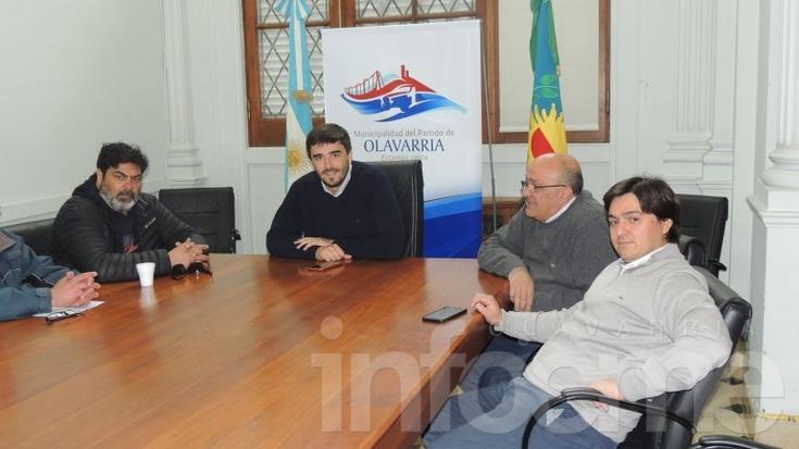 Galli recibió al titular del Sindicato de Municipales