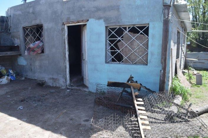 Incendio en una vivienda: sospechan que fue intencional