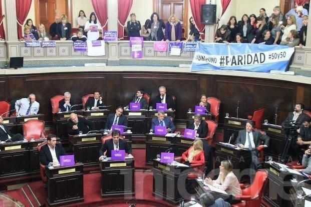 Senado aprobó el reparto igualitario de candidaturas