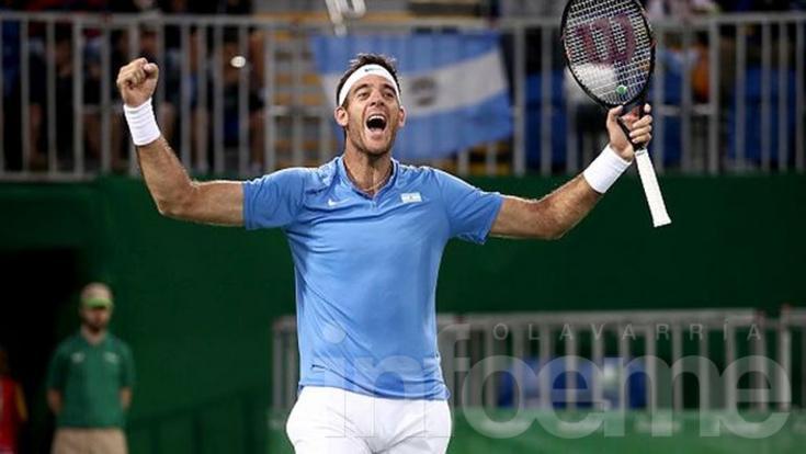 Copa Davis: enorme victoria de Del Potro sobre Murray