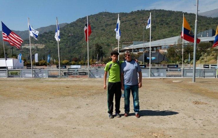 Buen paso de Matías Müller por Chile